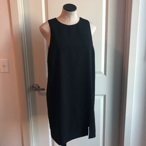 H&M Little Black Dress with Slit - Large Zipper